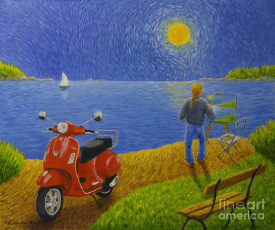 Scooter Paintings