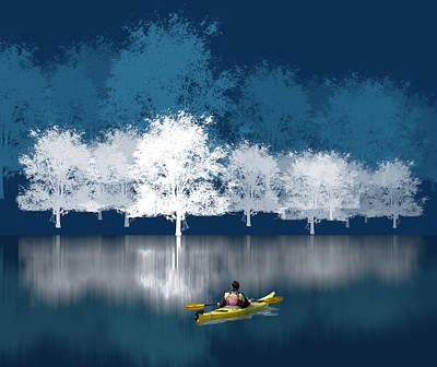 Kayaking Art