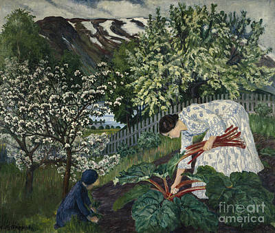 Nikolai Astrup Paintings