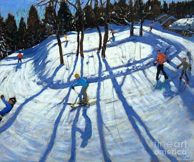 Ski Resort Paintings