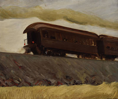 Designs Similar to Railroad Train by Edward Hopper