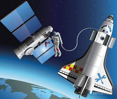 Satellite Image Art Prints