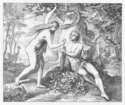 Designs Similar to The Temptation, Adam And Eve