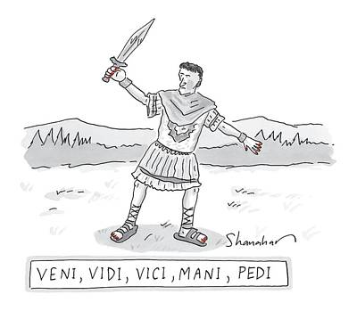 Roman Soldier Drawings