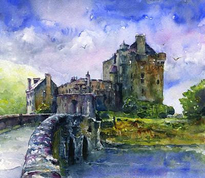 Eilean Donan Castle Paintings
