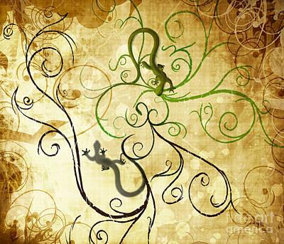 Swirly Art Prints