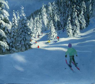 Downhill Skier Prints