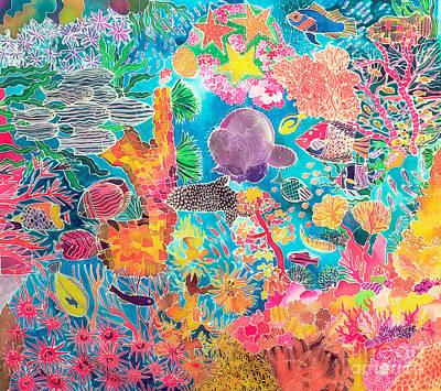 Algae Paintings Prints