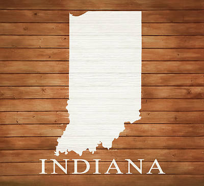 Designs Similar to Indiana Rustic Map On Wood