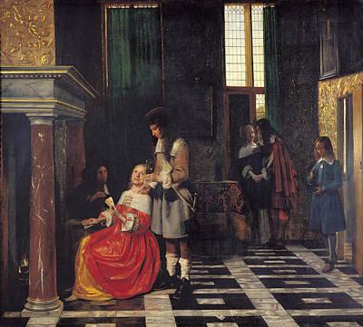 Pieter De Hooch Art
