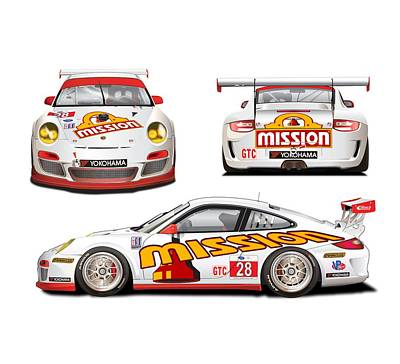Designs Similar to Porsche Gt3 Cup by Alain Jamar