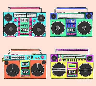 Cassette Digital Art