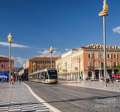 Designs Similar to Nice Tramway At Place Massena