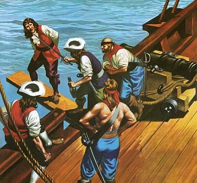 Wooden Ship Drawings Prints