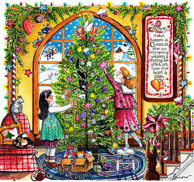 Real Meaning Of Christmas Original Artwork