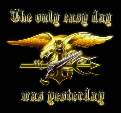 Navy Seals Trident Digital Art