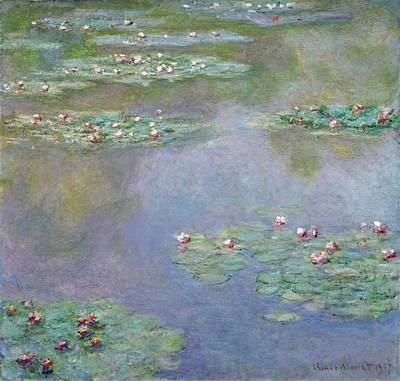 Designs Similar to Water Lilies 31 by Claude Monet