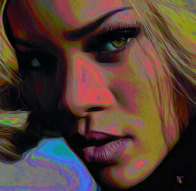 Rihanna Digital Art Original Artwork