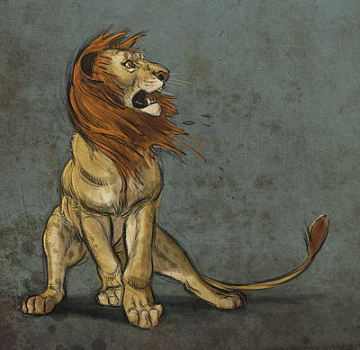 Lion Digital Art