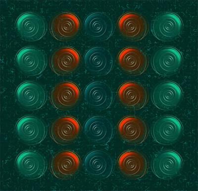 Liquid Patterns Mixed Media Prints