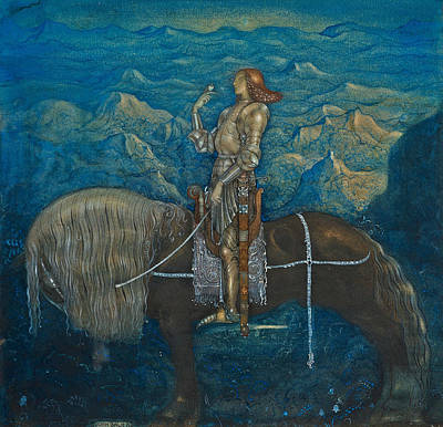 Designs Similar to A Knight Rode On by John Bauer
