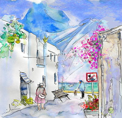 Village By The Sea Drawings Prints