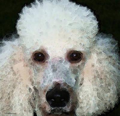Poodle Digital Art