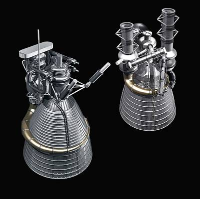 Designs Similar to F-1 And J-2 Rocket Engines