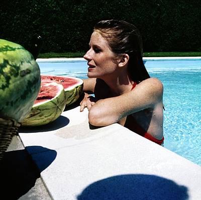 Designs Similar to Alexandra Cushing In Her Pool