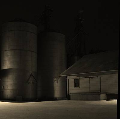 Feed Mill Photographs Original Artwork