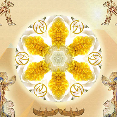 Warrior Goddess Mixed Media