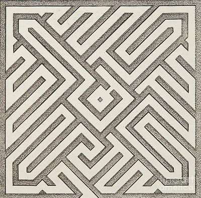 Optical Illusion Maze Posters