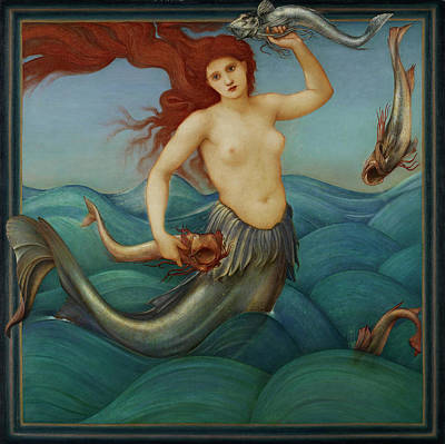 Designs Similar to Siren by Edward Burne Jones