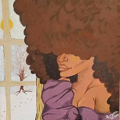 Hair Paintings
