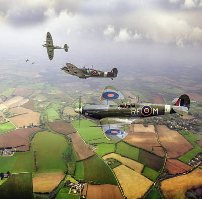 Designs Similar to Spitfire Sweep Colour Version