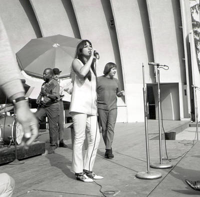 Designs Similar to Sonny & Cher At Hollywood Bowl