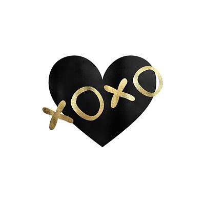 Designs Similar to Xoxo Black And Gold Kisses