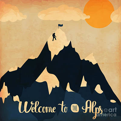 Alps Digital Art