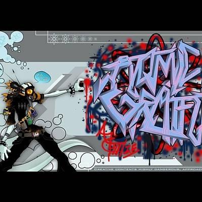 Designs Similar to Atomic Graffiti by Arik Bennado