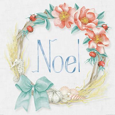 Sea Shell Wreaths Prints