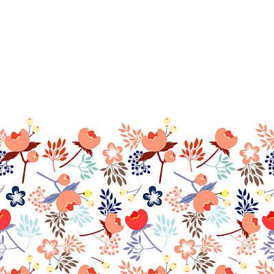 Garden Roses Digital Art