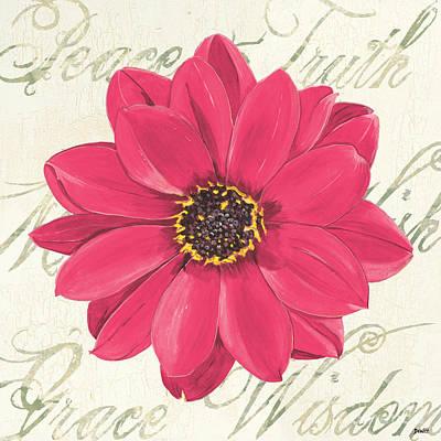 Fuchsia Pink Art