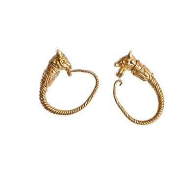 Hellenistic Earrings Photographs