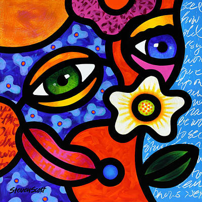 Abstract Face Paintings for Sale - Fine Art America
