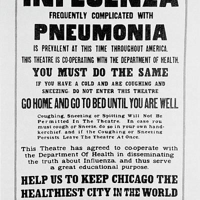 Designs Similar to Influenza Poster
