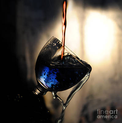 Wine Pooring Photographs Prints