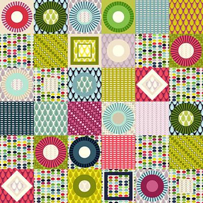 Blue Quilts Prints