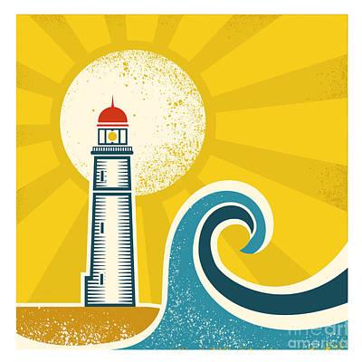 Lighthouses Digital Art