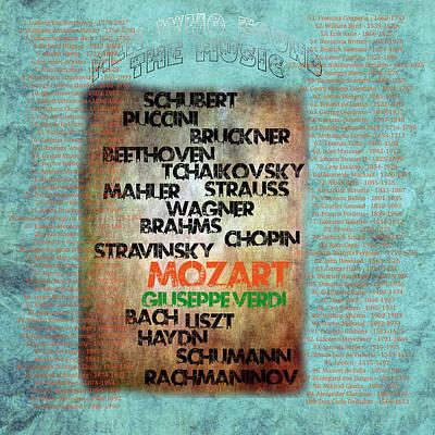 Schubert Digital Art Prints