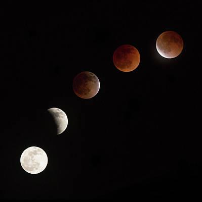 Blood Moon Art Prints